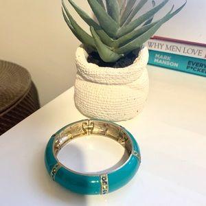 BUNDLE ONLY Vintage Blue Jeweled Bangle